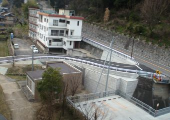 平成28年度 防災対策避難路整備事業道路改良工事