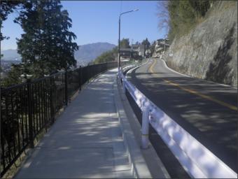 平成29年度市街地整備事業歩道整備工事