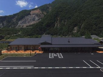 平成29年度大鹿村道の駅建設工事